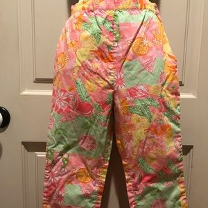 Lilly Pulitzer Capri pants size 12